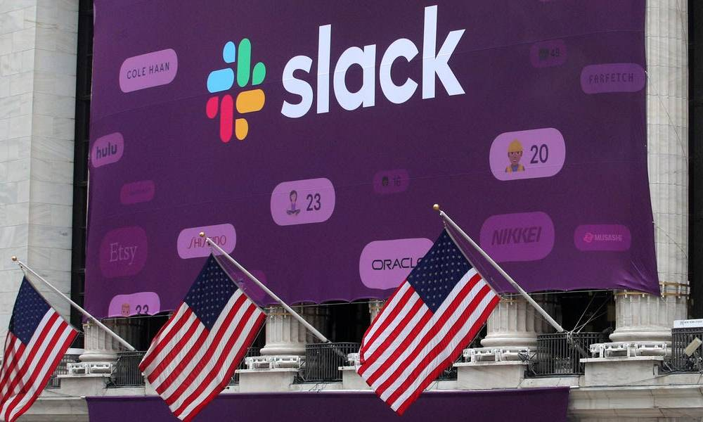 Slack just taunted Microsoft with 'OK boomer' for running an ad campaign that looks almost exactly like one of Slack's (WORK, MSFT)