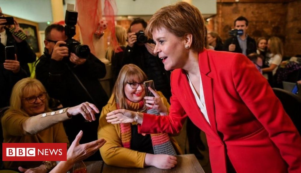 General election 2019: Nicola Sturgeon pledges to 'protect Scotland from Tories'