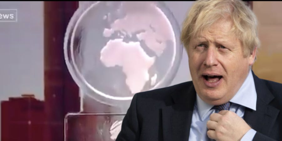 Boris Johnson was replaced by a melting ice sculpture after refusing to take part in a televised climate change debate