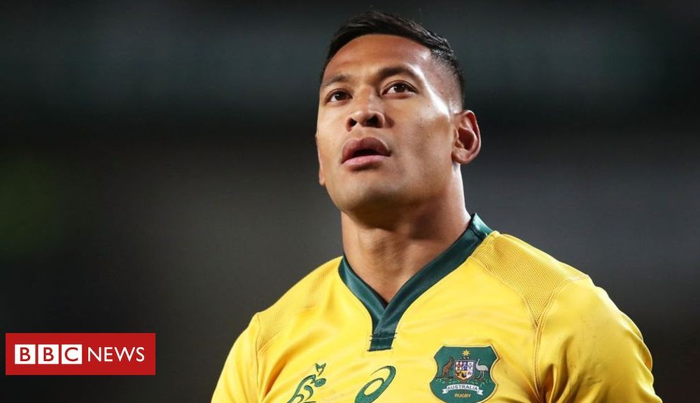 Sport Israel Folau: Rugby Australia denies 'backing down' with settlement