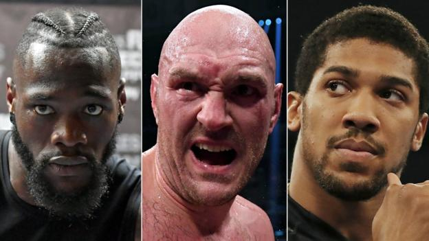 Sport Anthony Joshua: Tyson Fury or Deontay Wilder bout still potentially two years away