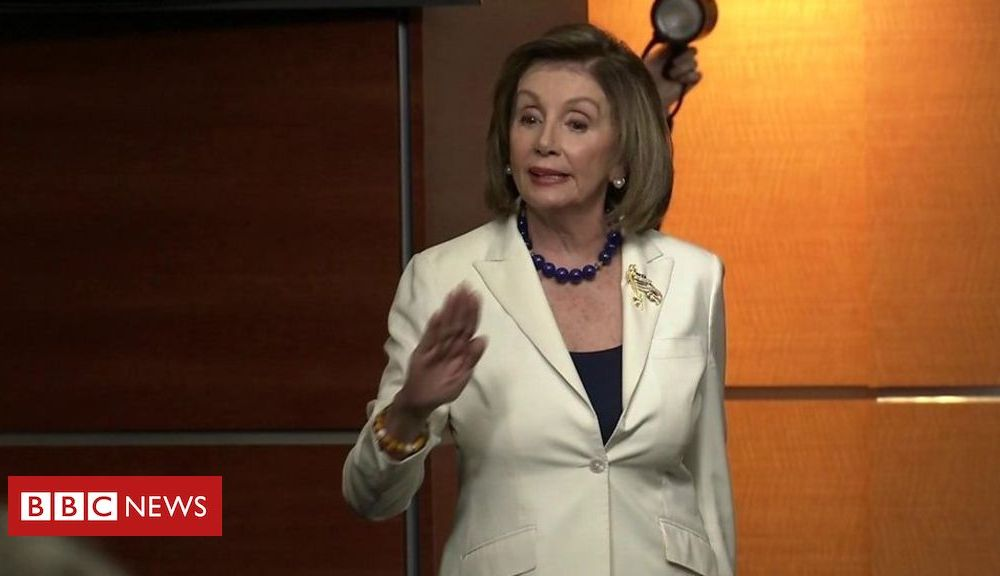 Trump 'Don't mess with me' – Pelosi rows with reporter