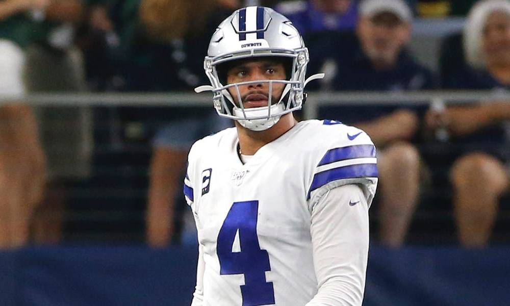 Cowboys' opening coin toss was screwed up by everybody giving the ball to the Rams to start both halves