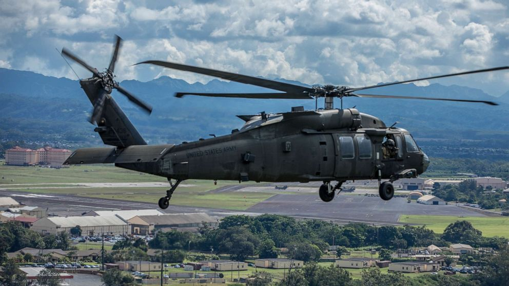 Army National Guard Black Hawk missing in Minnesota