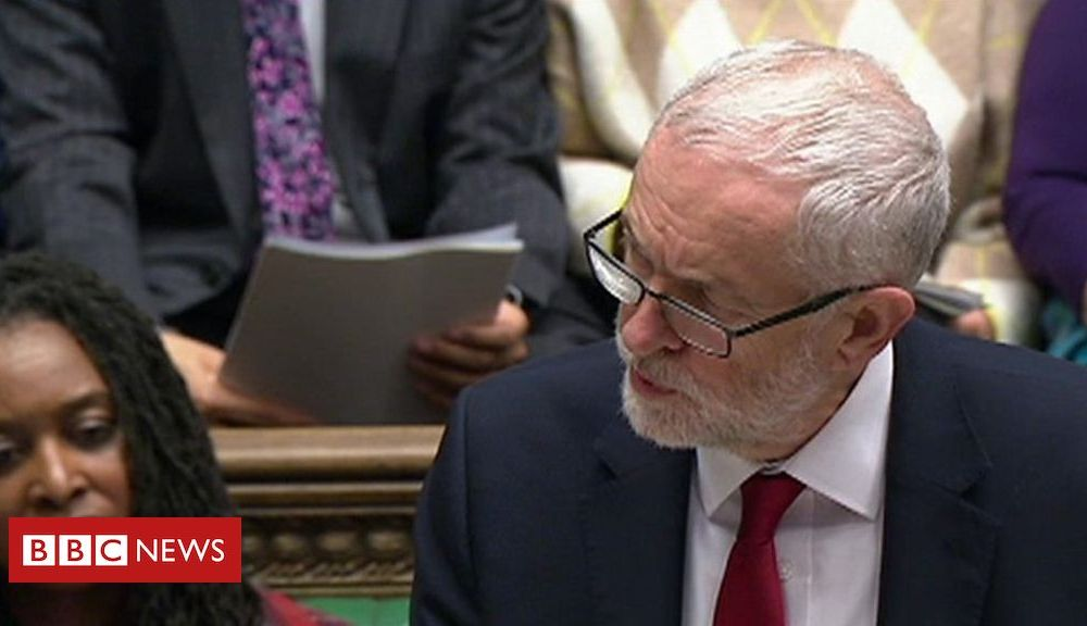 PMQs: Corbyn and Johnson on Iran strikes