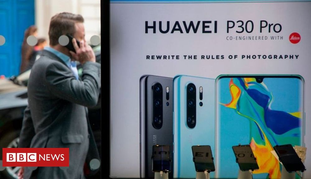 Using Huawei in UK 5G network 'would be madness', US claims