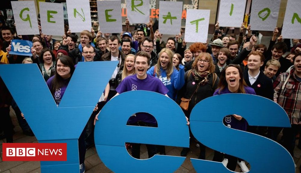 Indyref2: What does 'once in a generation' mean?