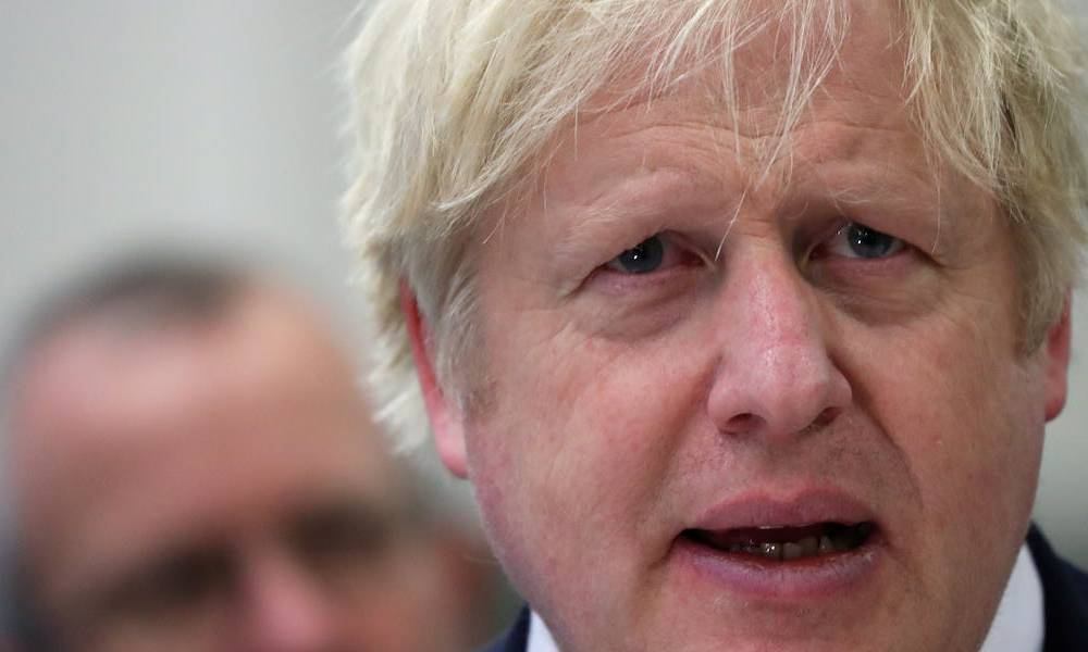 Boris Johnson warns Brussels he would rather walk away without a trade deal than make Britain follow EU rules