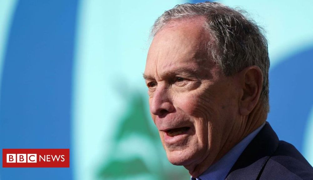 Trump US Election 2020: Meet the voters behind Bloomberg's surge