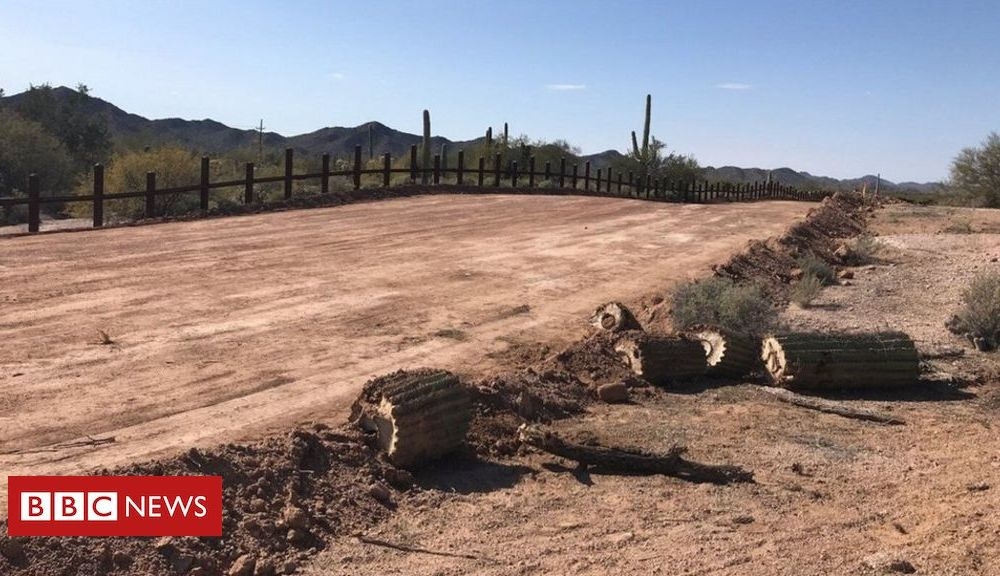 Trump Native burial sites blown up for US border wall