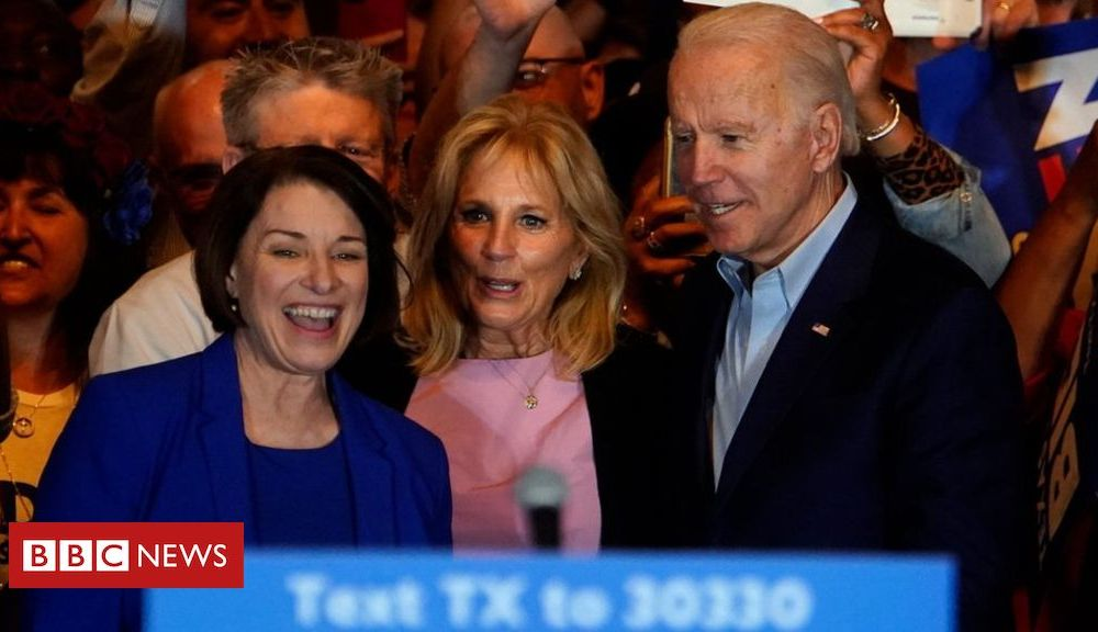 Trump US election 2020: Joe Biden boosted on Super Tuesday