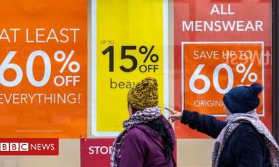 British retail sales bounce back in January
