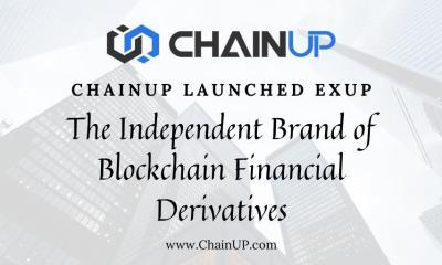 Crypto ChainUP Launches EXUP, An Independent Brand of Blockchain Financial Derivatives