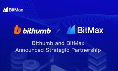 Crypto BitMax.io and Bithumb Korea Announce Strategic Partnership to Enhance Product Platform and Accelerate Global Expansion