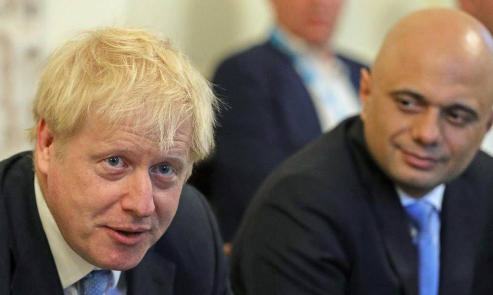 Boris Johnson's former chancellor Sajid Javid said the prime minister's Downing Street power grab is 'not in the national interest' in a withering resignation speech