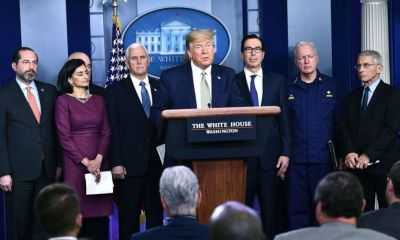Government response updates: Trump proposes sending Americans relief checks