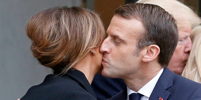 French people have been told to stop kissing each other on the cheek to stop coronavirus spreading