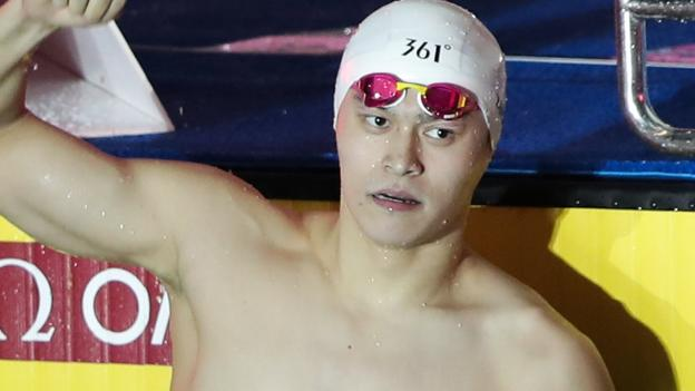 Sport Sun Yang: Eight-year ban for Chinese Olympic champion