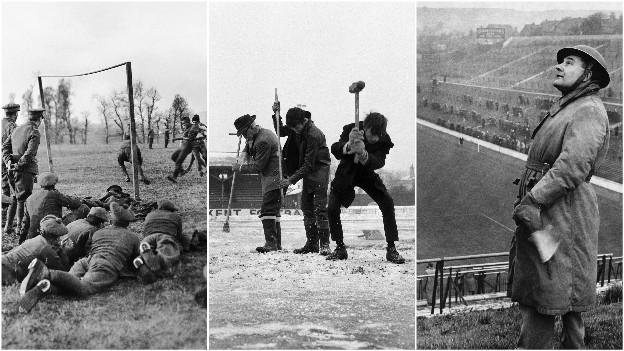 Sport War, weather and working weeks: the previous times football has been halted in England