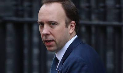 UK Health Secretary Matt Hancock announces that he has the coronavirus just hours after Boris Johnson also tests positive