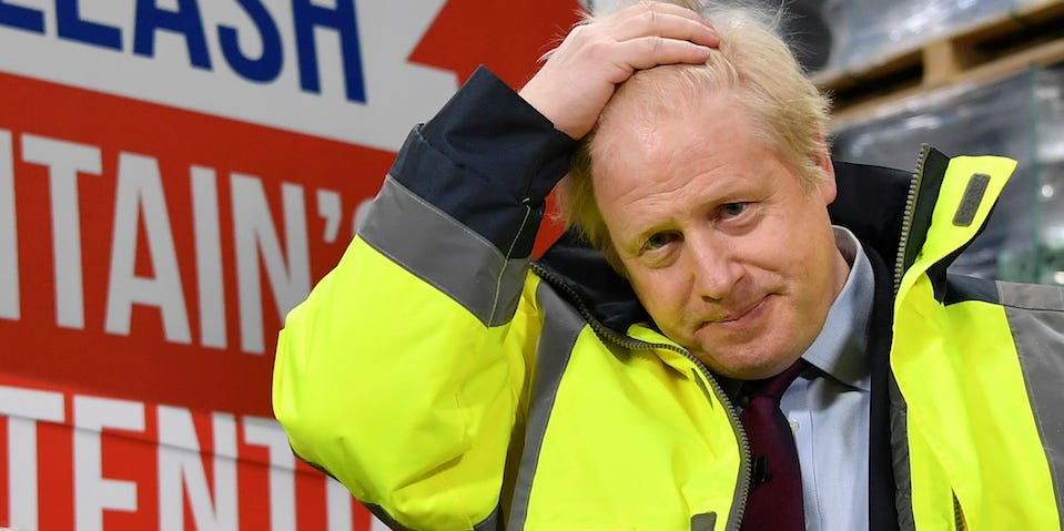 Boris Johnson's government has admitted it will erect Brexit border control posts for goods crossing the Irish Sea