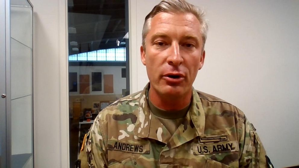 Minnesota National Guard member offers advice to police amid protests
