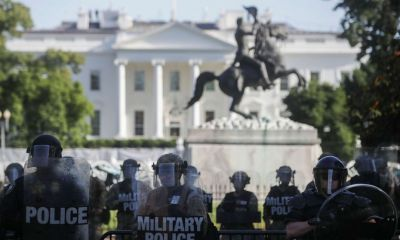 52% of Americans support deploying military to control violent protests: POLL