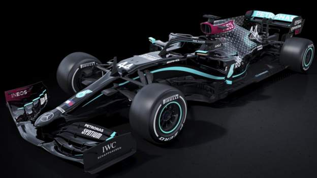 Sport Mercedes to race in new black livery for 2020 F1 season