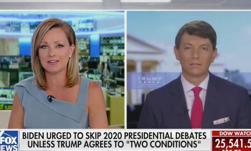 Not even a Fox News host would touch the Trump campaign's latest attack on Biden