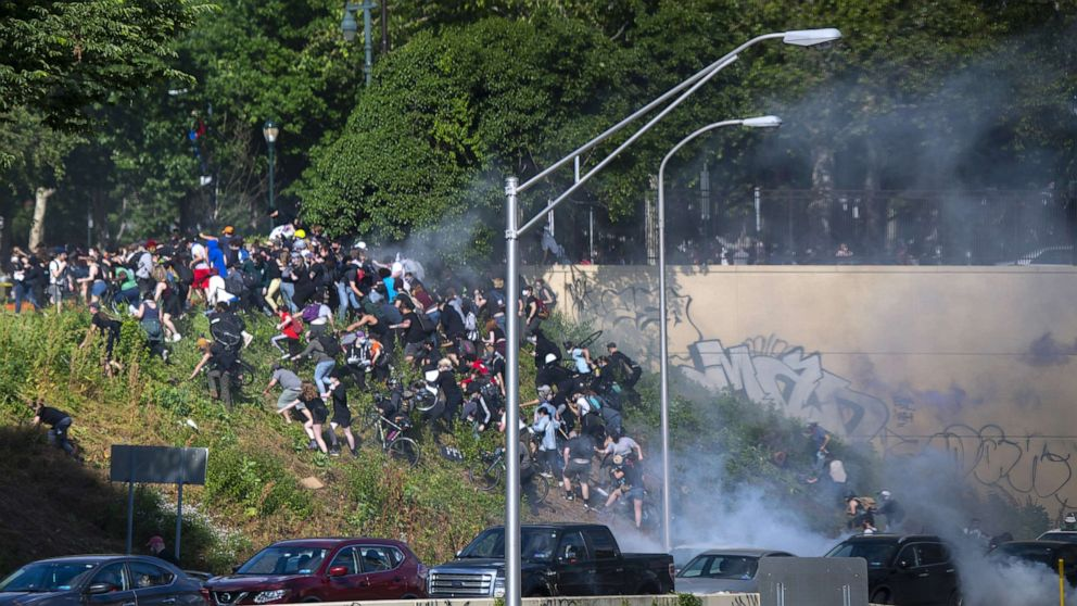 Police apologize for behavior at protests, declare end to using tear gas