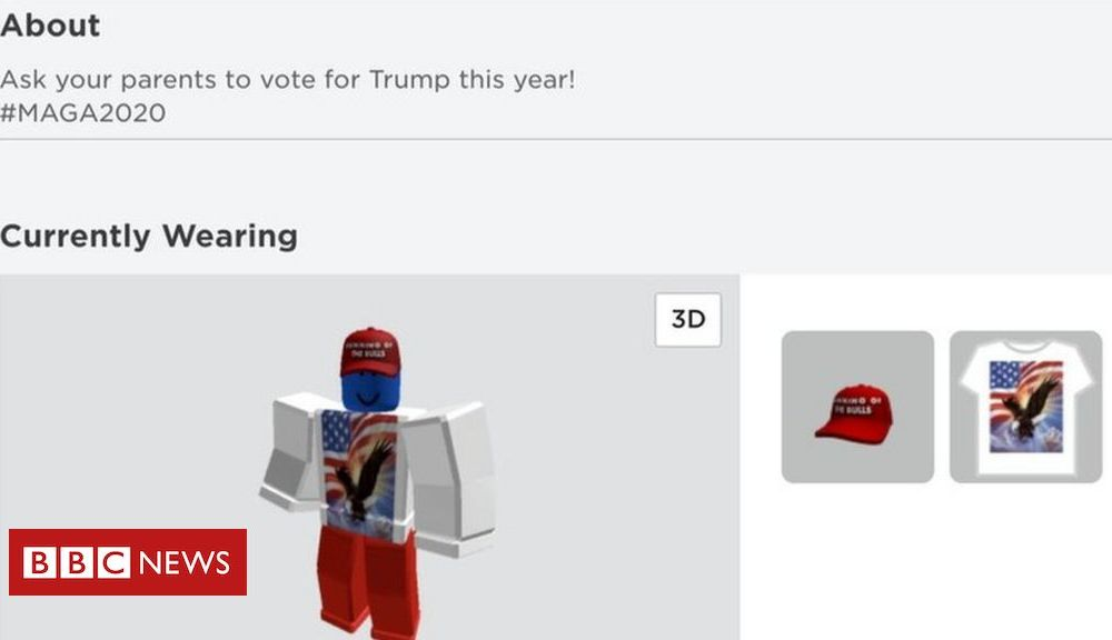 Trump Roblox accounts hacked to support Donald Trump