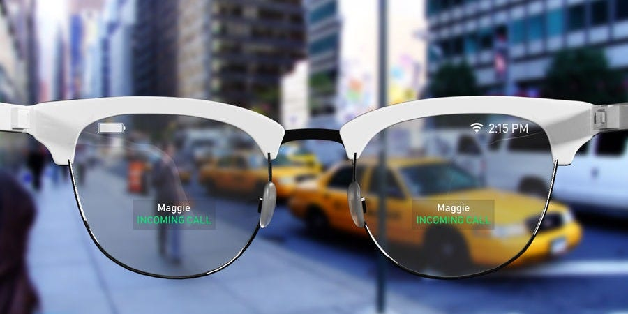 Apple is reportedly producing lenses for what could be its next major product: an augmented reality headset (AAPL)