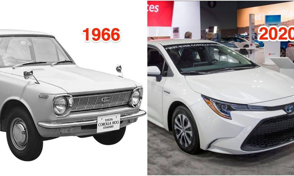 THEN AND NOW: The most famous car models in America