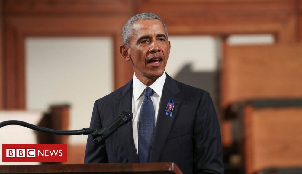Trump US election 2020: Obama calls for end to voter suppression