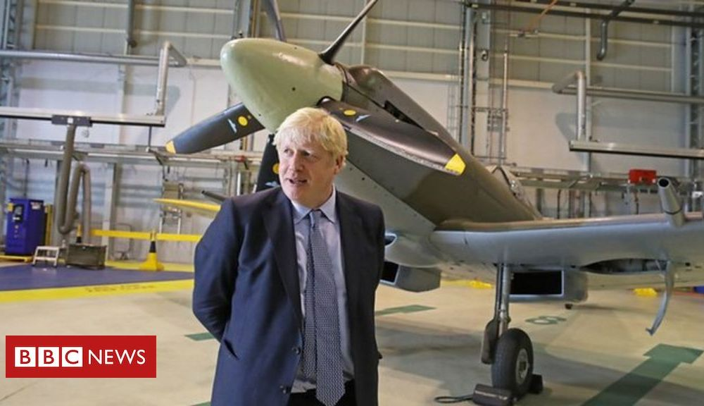 Prime Minister Boris Johnson defends UK union on a visit to Scotland