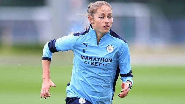 Sport Janine Beckie: Man City star on quarantine & 'humbling' experience