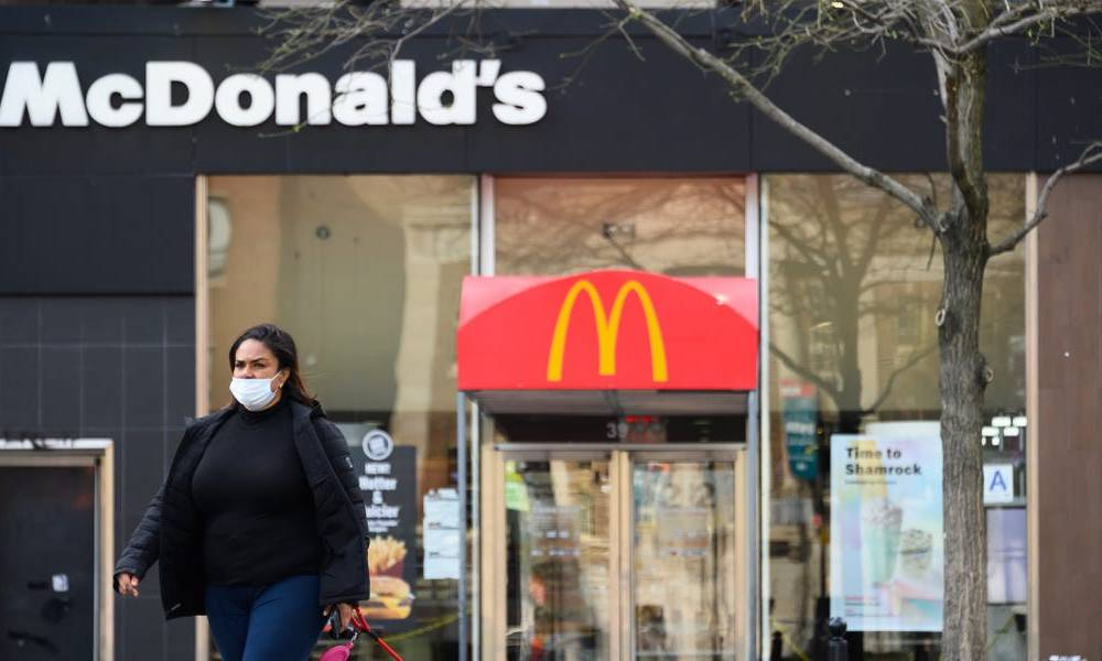 McDonald's will require customers to wear masks in its restaurants