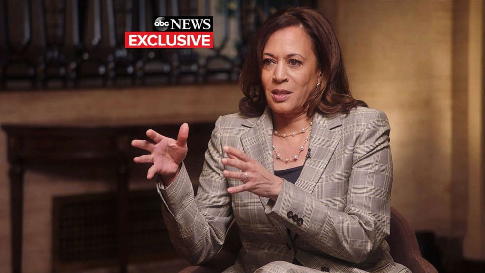 Kamala Harris to Roberts: Revisiting primary debate clash is a 'distraction'