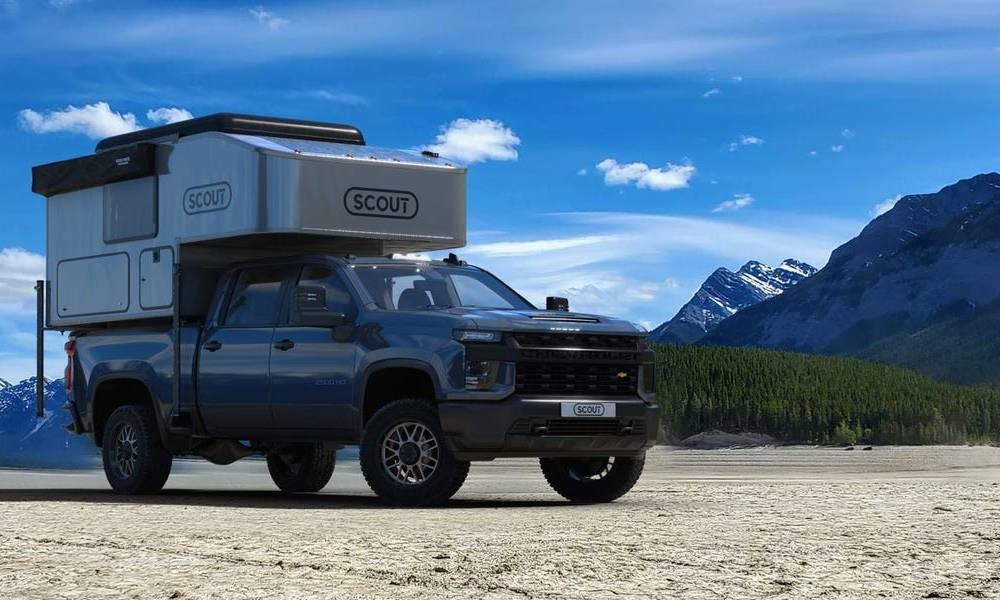 Scout Campers has unveiled its newest and largest pickup truck-mounted unit that can sleep up to 6 people — see inside the $23,625 Kenai