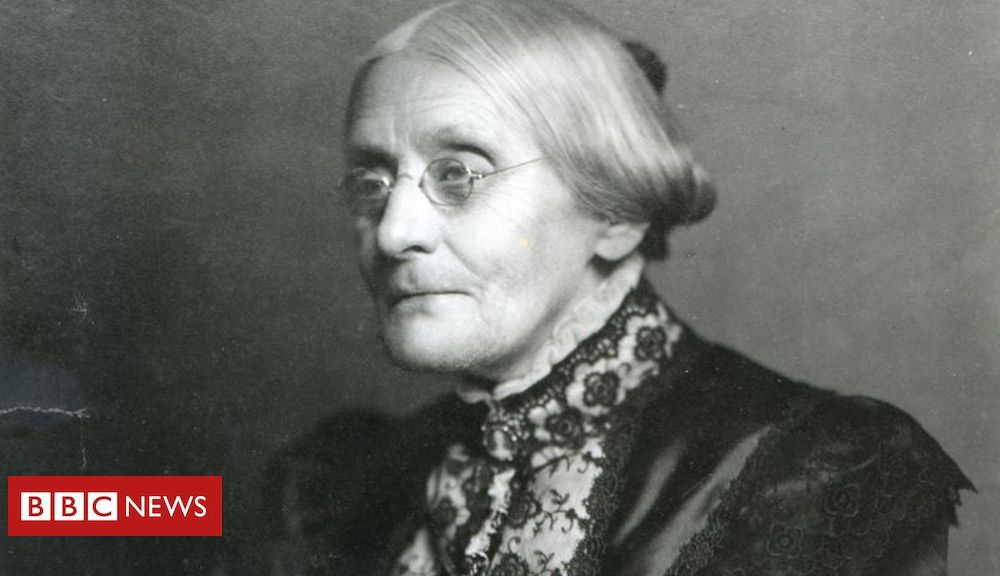Trump Trump to pardon women's voting pioneer Susan B Anthony