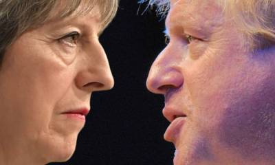 Conservative rebels want Theresa May to lead a Brexit rebellion against Boris Johnson's plan to break international law and rip up his deal with the EU