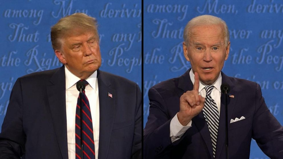WATCH: Trump and Biden address race issues in America