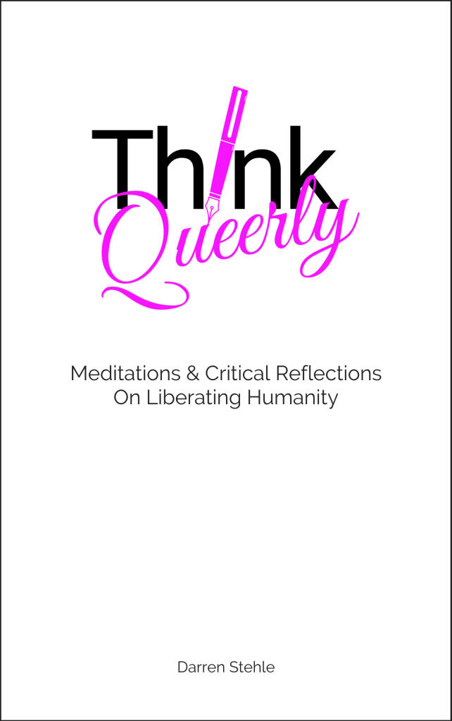 Think Queerly Meditations By Darren Stehle Cover