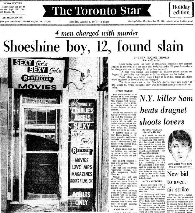 Emanuel Jaques Toronto Star