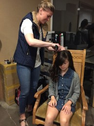 Hair and Makeup for Talent from Option Media / Portland Photo Producer / Intel Robotics w Kids