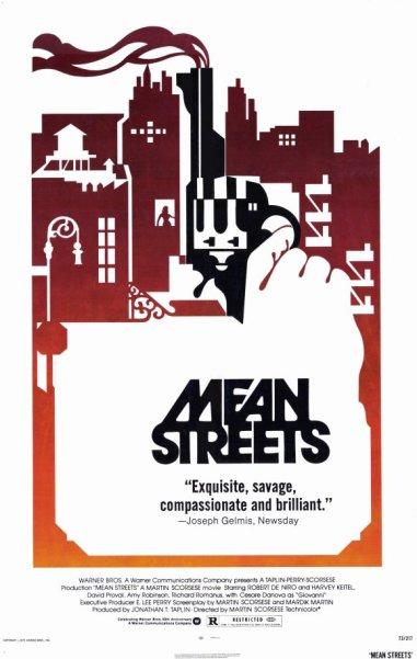 Mean Streets, 1973, Martin Scorsese, Warner Bro's