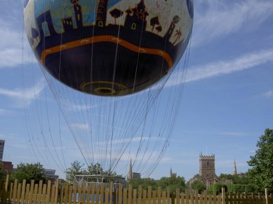 Balloon day in Bristol(?)