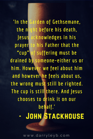 Did Jesus Really Have To Die? John Stackhouse