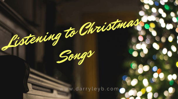 Listening to Christmas Songs