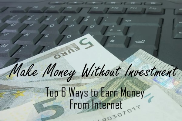 make online money without investment